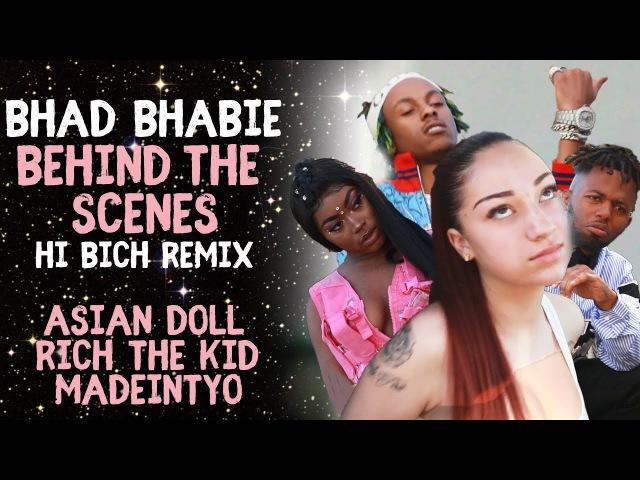 BHAD BHABIE Hi Bich Remix BTS Music Video Danielle Bregoli