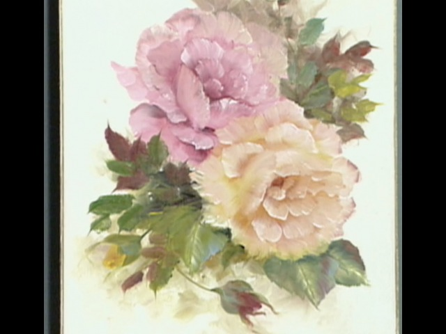 The Beauty of Oil Painting, Series 1, Episode 8 Pink and Yellow Roses