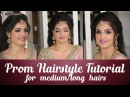 Prom Hairstyle Tutorial For Long Hair Step By Step Prom Hairstyle Tutorial Krushhh By Konica