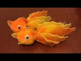 How to make a nylon stocking- Goldfish (Revised)