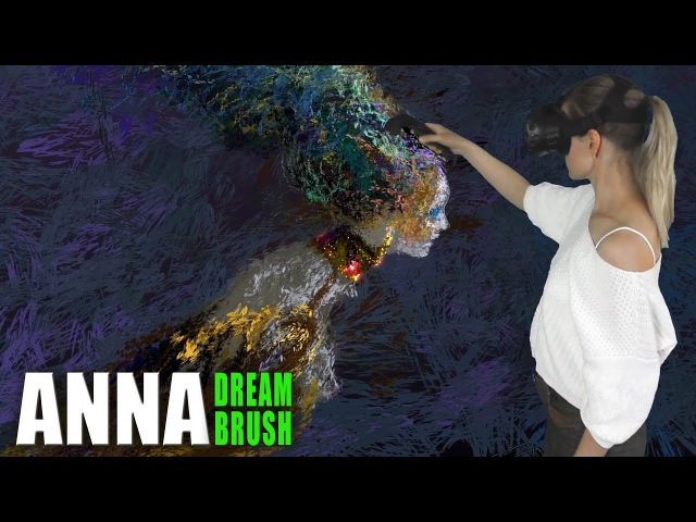 Bird Gamayun - Virtual reality painting (Tilt Brush) 2018