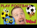 Play Football Numbers for Children NEW English Story with Steve and Maggie Wow English TV