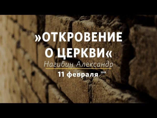 Александр Нагибин - Откровения о церкви