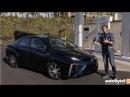 2017 Toyota Mirai Hydrogen Fuel Cell Car Test Drive Video Review