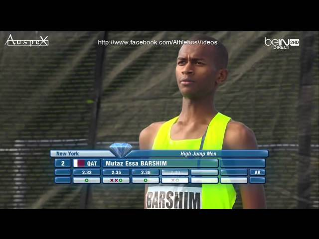 Barshim and Bondarenko 2.42m full contest, New York 2014