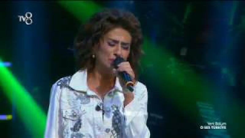 Yıldız Tilbe'den tüyleri diken diken eden performans! | O Ses Türkiye