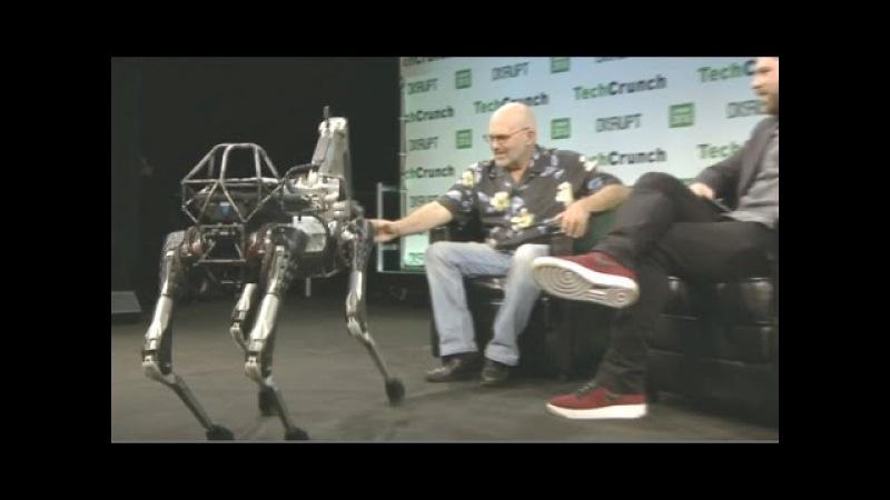 Google X's Boston Dynamics CEO Introduces Latest Robot Pet-Assistant