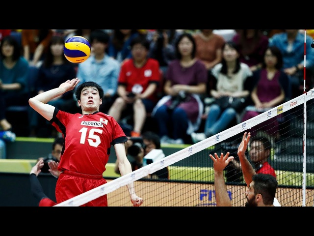 TOP 10 Best Volleyball Spikes by Haku Lee (李博(Ri Haku)   World Grand Champions Cup 2017