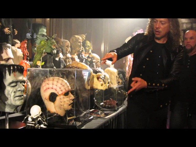 Kirk Hammet's Horror Collection Tour Fear Festevil 2014