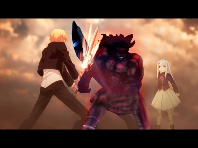 Fate/Stay Night UBW「AMV」- Gilgamesh Vs. Berserker • Bleed it Out
