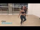 Репетиция танцевального баттла Шерил и Вероника Ривердейл Riverdale