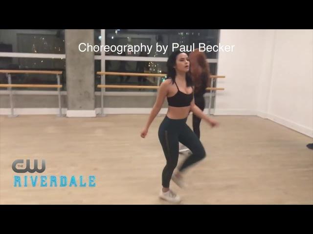 Репетиция танцевального баттлаШерил и ВероникаРивердейлRiverdale