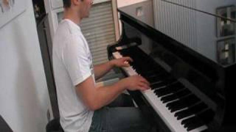 ABBA - Gimme Gimme piano