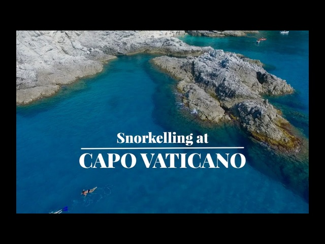 Snorkelling At Capo Vaticano - Calabria - Italy 2016