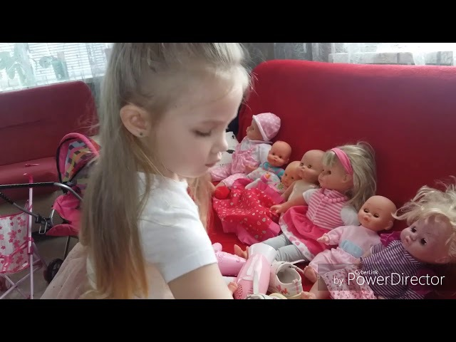 Блог Полина играет в дочки матери