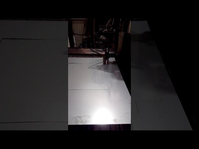Производство фризера - Лазерная резка
