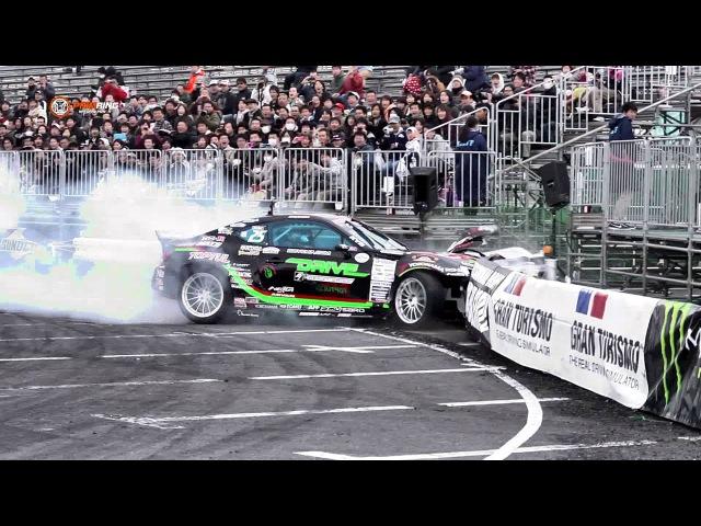 D1GP - DRIFT CRASH VIDEO