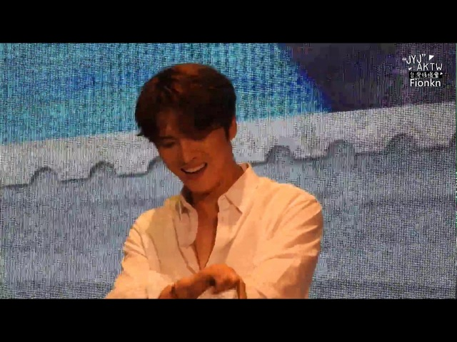 20171105 Kim Jaejoong Asia Tour FM in Taipei 脫衣服懲罰