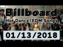 Billboard Hot Dance Electronic EDM Songs TOP 50 January 13 2018