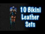 10 Cool Leather Bikini Sets - (World of Warcraft)