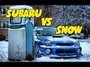 SUBARU WRX STI VS SNOW || Snow Fun Drift