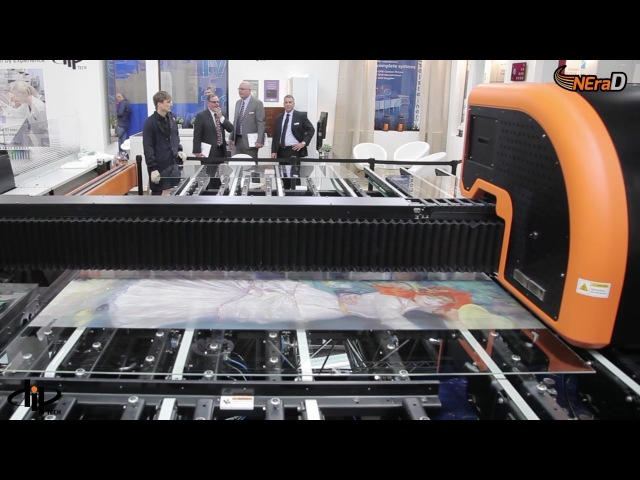 Digital Printing on Glass Machine
