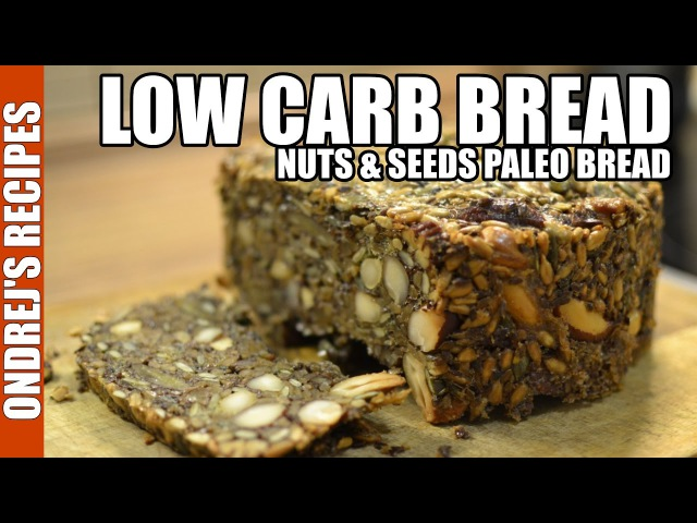 Low Carb Bread Recipe | Amazing Paleo Bread From Nuts Seeds