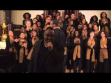 Kenny Bobien with Harvard's Kuumba Singers performing I Shall Not Be Moved