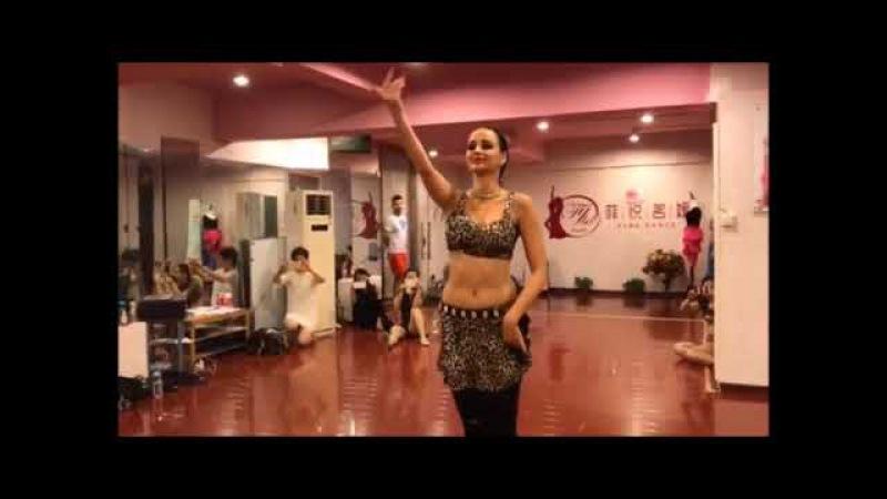 Loretta NEW 2017! Tabla Solo Workshop in China