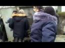 Машина после ДТП задела телефонный распределительный щиток в Новороссийске