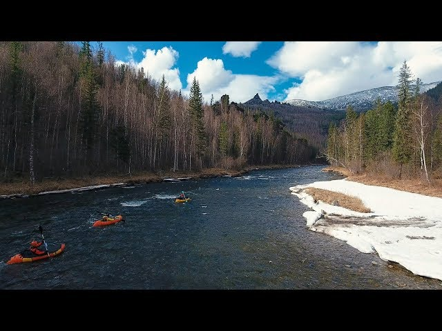 Три сезона реки Мана Packrafting in Siberia