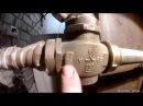 Устанавливаем трехходовой термостатический смесительный клапан