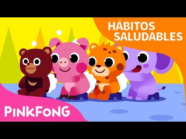 Hora del Baño | Hábitos Saludables | Pinkfong Canciones Infantiles