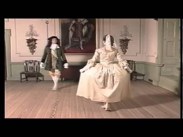 Dans Tijd 1 T7 Menuet ordinaire - Le Maître à Danser - 1725 (менуэт)