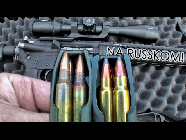 Мощнейший патрон для стандартной AR-15 | Разрушительное ранчо | Перевод Zёбры