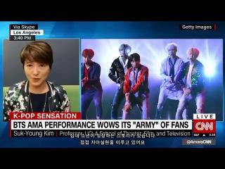 [한글자막] 171120 CNN, 성공적인 미국 TV데뷔를 한 방탄소년단(BTS)