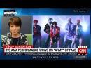 한글자막 171120 CNN 성공적인 미국 TV데뷔를 한 방탄소년단 BTS