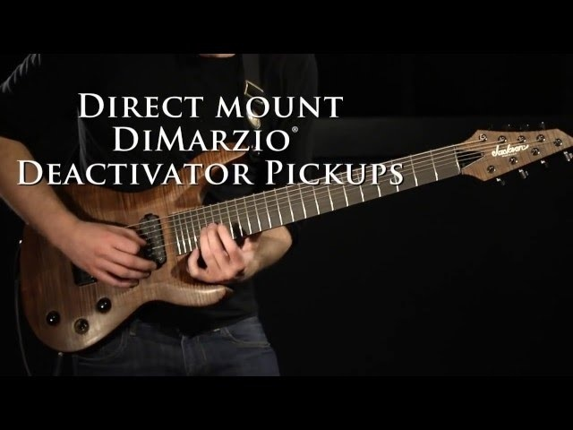 Jackson B8 Deluxe and B8 Demo