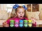 Diana fun playing with color Slime Learning colors Video for children, Funny Toys for Kids