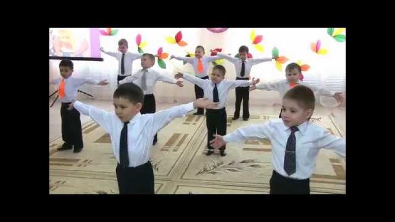 Танец Выше якоря. Весенний утренник в детском саду. 8 марта.