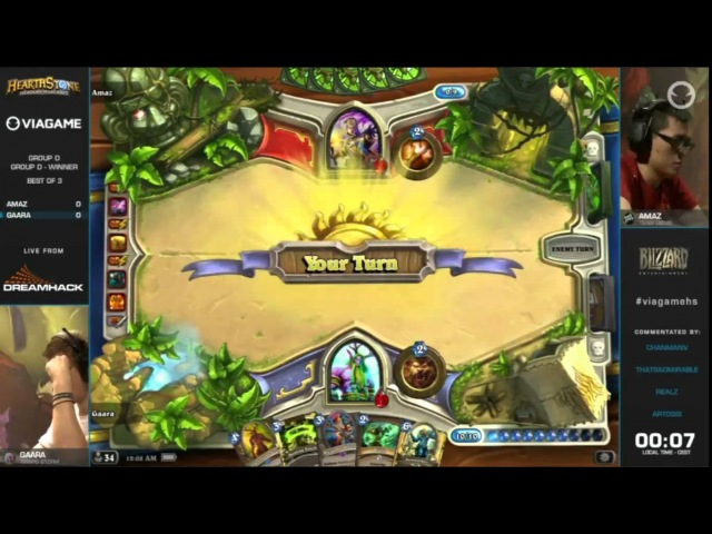 Crazy Amaz Priest Board Clear at Dreamhack!