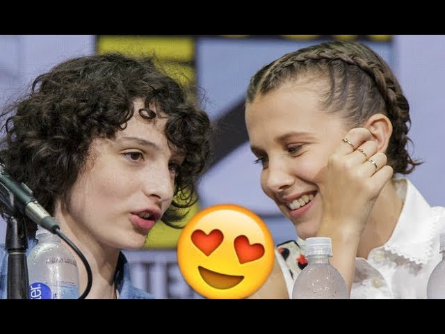 Millie Bobby Brown and Finn Wolfhard 😍😍😍- ULTIMATE CUTE AND FUNNY MOMENTS (Stranger Things 2017)