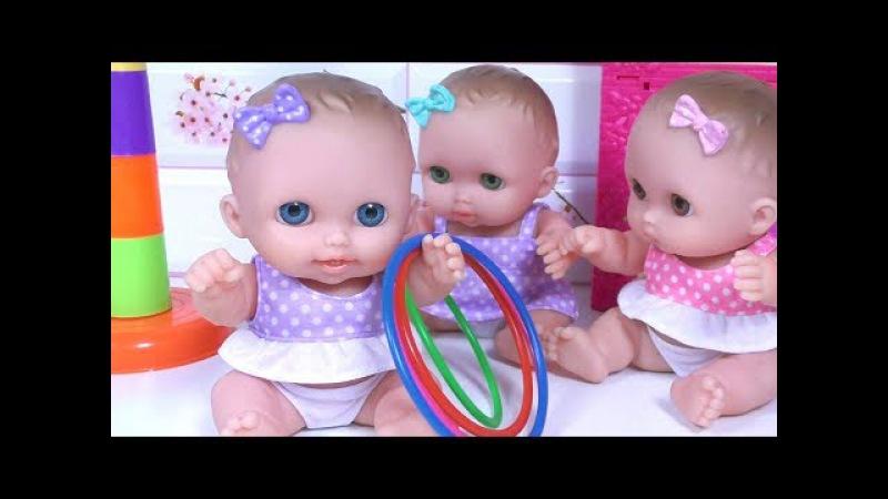Куклы Пупсики ИГРА CHALLENGE - КТО БОЛЬШЕ 🎁 Сюрпризы Распаковка ❤ Evi Love Scooter Tour ❤ BLT TV