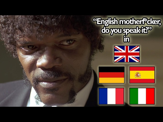 English Motherf*cker, Do You Speak It! Scene In 5 Languages