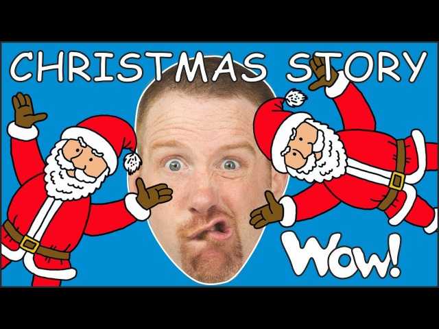 Christmas Story for Kids from Steve and Maggie NEW Magic Speaking with Stories from Wow English TV