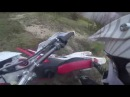 Закрытие сезона Горки снег глина и листва Motoland xr250