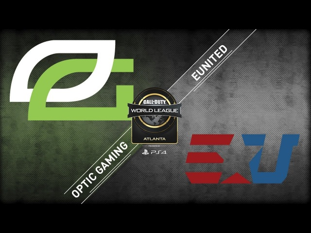 OpTic Gaming vs eUnited CWL Atlanta Open 2018 Bravo Stream Day 1