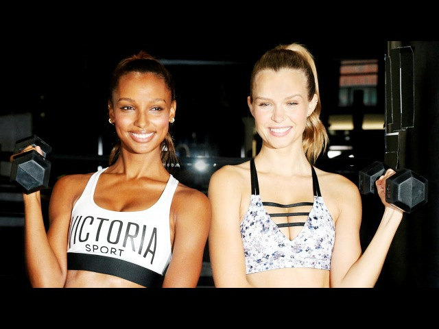 The Best BFF Workouts ft. Victoria's Secret Angels Josephine Skriver and Jasmine Tookes