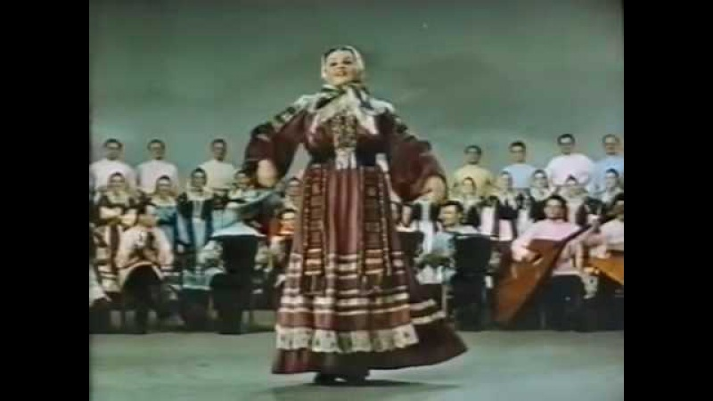 Russian State Folk Choir from Voronezh Collective farm's Tunes
