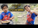 How To Make MEAL MAKER 65 Soya Chunks 65 By Little Chef Minnu Little Kid Cooking In Nature